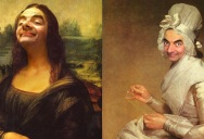 This Guy Can't Stop Photoshopping Mr Bean Into Famous Paintings