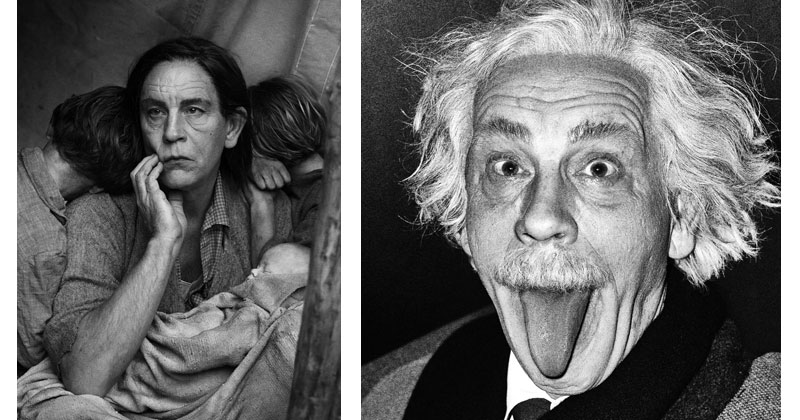 Recreating Iconic Photos with John Malkovich