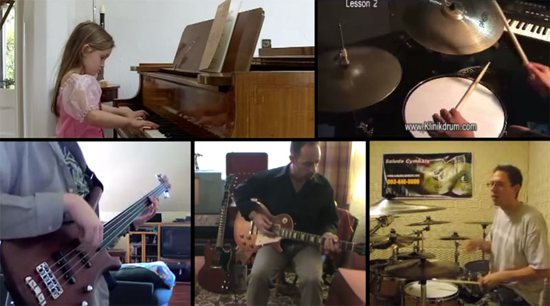 Producer Makes Song by Sampling Video Clips of Amateur Musicians on YouTube
