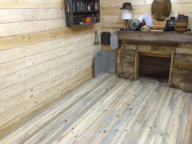 This Guy Built a Rustic Cabin Man Cave for 107 dollars (12)