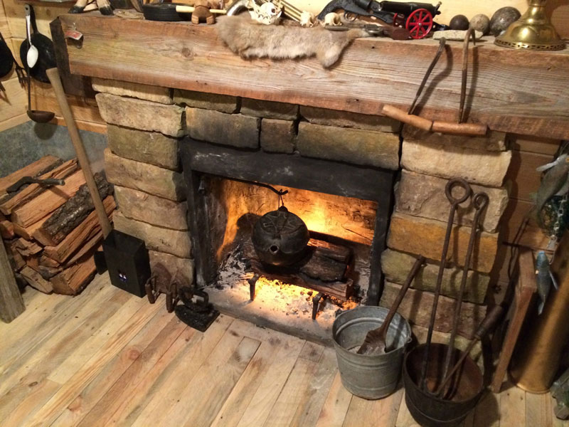 This Guy Built a Rustic Cabin Man Cave for 107 dollars (16)