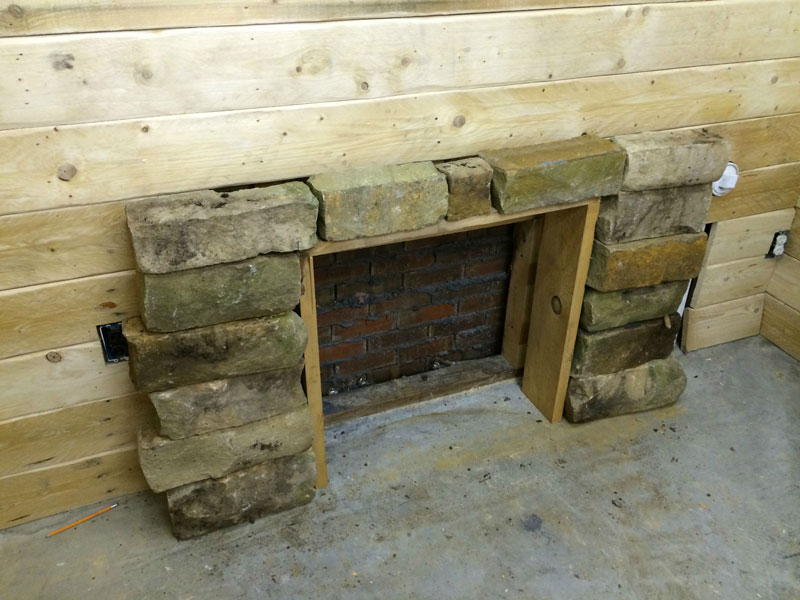 This Guy Built a Rustic Cabin Man Cave for 107 dollars (7)