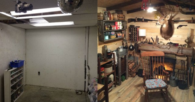 This Guy Built A Rustic Cabin Man Cave For 107 Twistedsifter