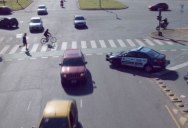 Director Edits Mundane Traffic Footage Into Choreographed Chaos