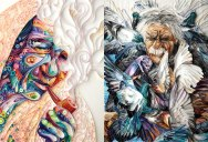Yulia Brodskaya Rolls Strips of Paper Into Works of Art
