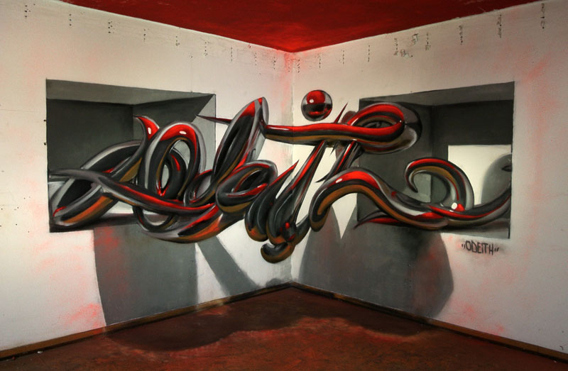 anamorphic graffiti murals that leap off the wall by odeith (1)