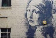 Banksy Remixes Vermeer in Latest Street Artwork