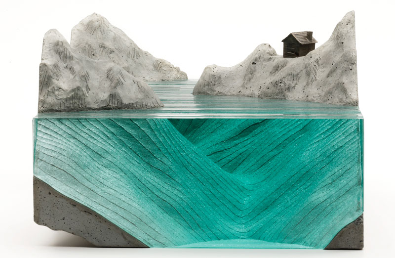 ben young glass wave sculpture 15 Glass Wave Sculptures by Ben Young