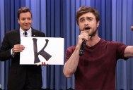 Daniel Radcliffe Raps 'Alphabet Aerobics' on Jimmy Fallon