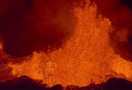 Eruption at Bardabunga. GoPro Melts but SD Card is Saved
