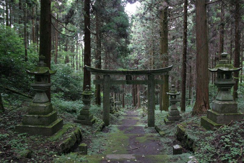 Forest Shrine in Takamori-machi, Kumamoto japan hotarubi no mori es real location (1)