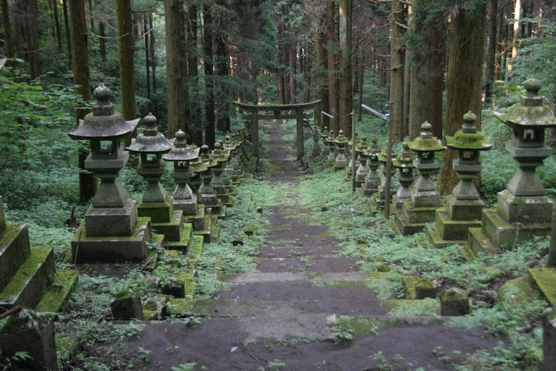 Forest Shrine in Takamori-machi, Kumamoto japan hotarubi no mori es real location (4)