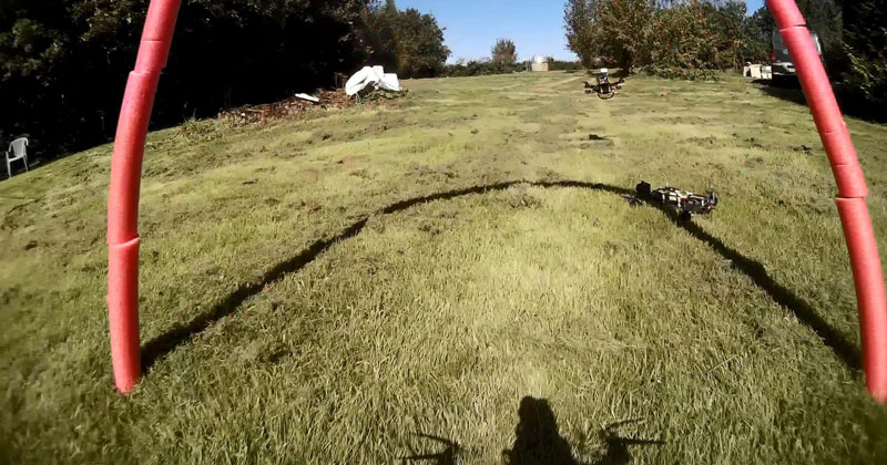 FPV Racing with Mini Quadcopters