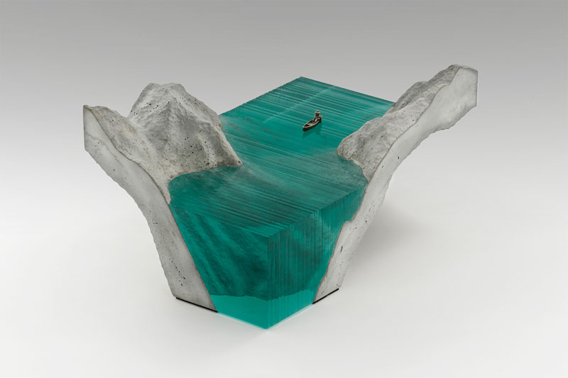glass wave sculptures by ben young (10)