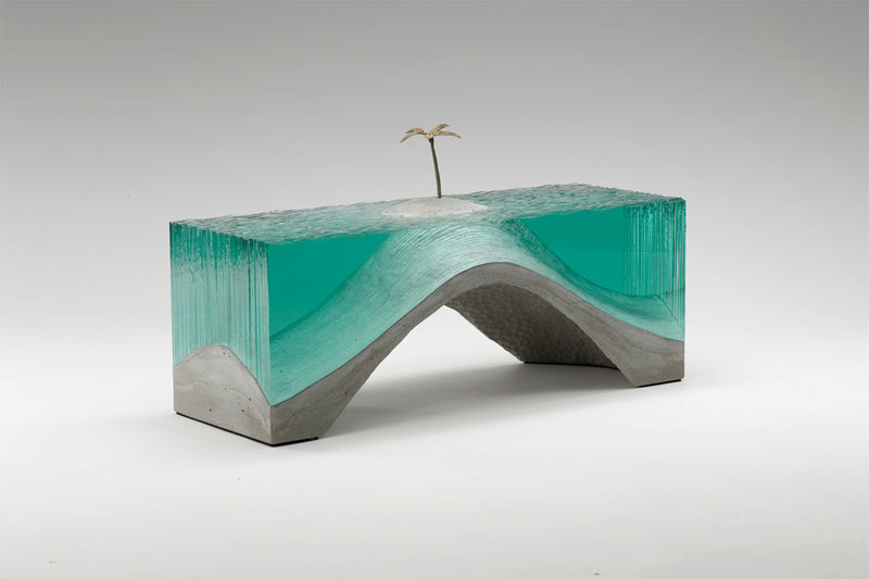 glass wave sculptures by ben young (3)