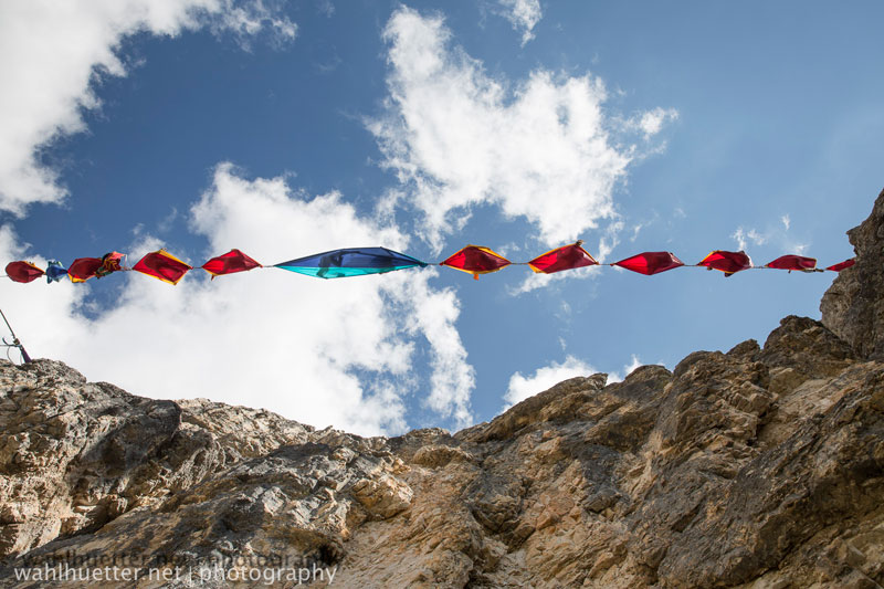 highline hammock session monte piana by sebastian wahlhutter 10 Highline Hammock Session in the Dolomites