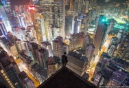 Picture of the Day: Hong Kong Rooftopping at Night