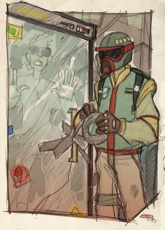 if star wars was set in an 80s high school by denis medri 20 If Star Wars was Set in an 80s High School