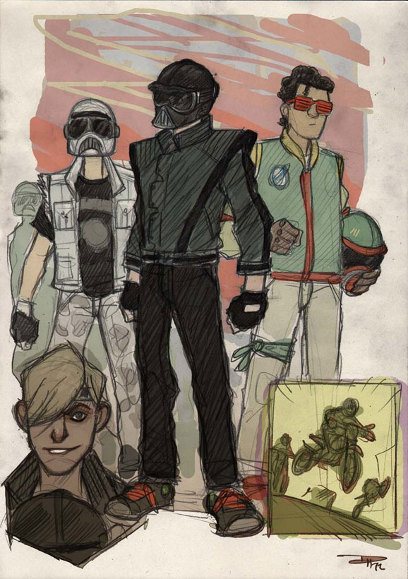 if star wars was set in an 80s high school by denis medri 4 If Star Wars was Set in an 80s High School
