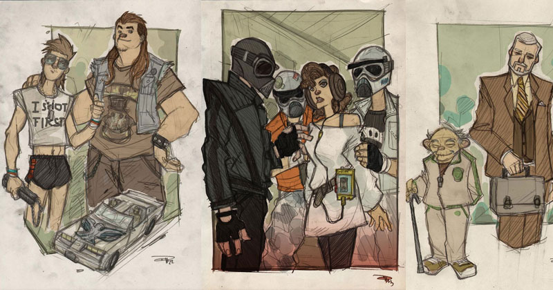 If Star Wars was Set in an 80s High School
