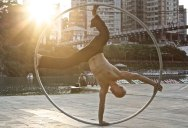 This Cyr Wheel Routine is Simply Incredible