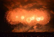 Amazing Fireworks Display in Japan Includes Largest Single Firework Ever