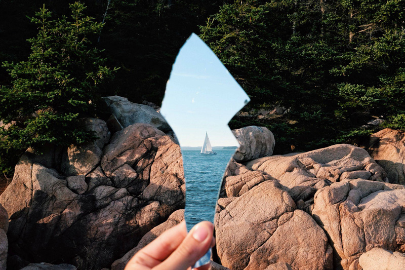 mirror reflection of sailboat by casey coulter The Top 100 Pictures of the Day for 2014