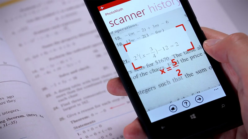 World's First Camera Calculator App Instantly Solves Math Problems