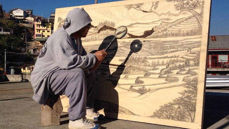 solar drawings using a magnifying glass by jordan mang-osan (8)