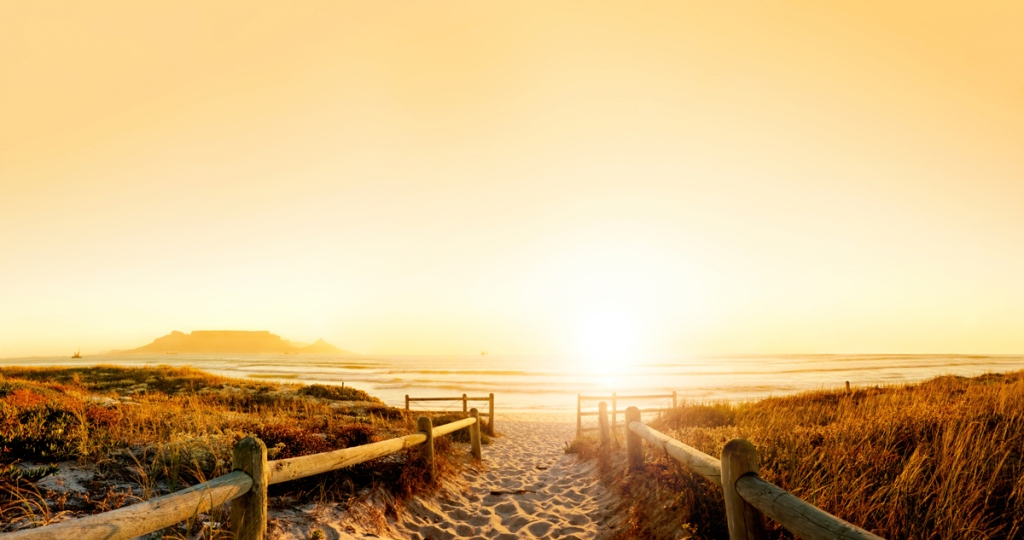 Picture of the Day: Sunset Beach Walk, Cape Town