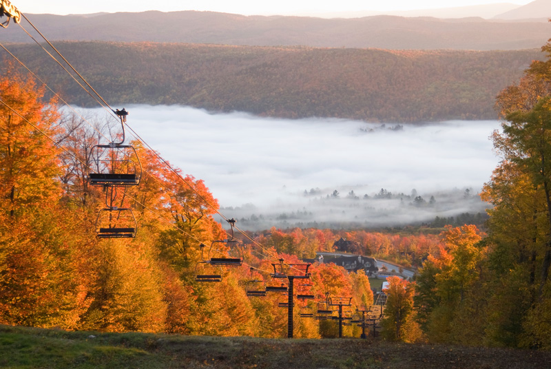 Spectacular fall landscape