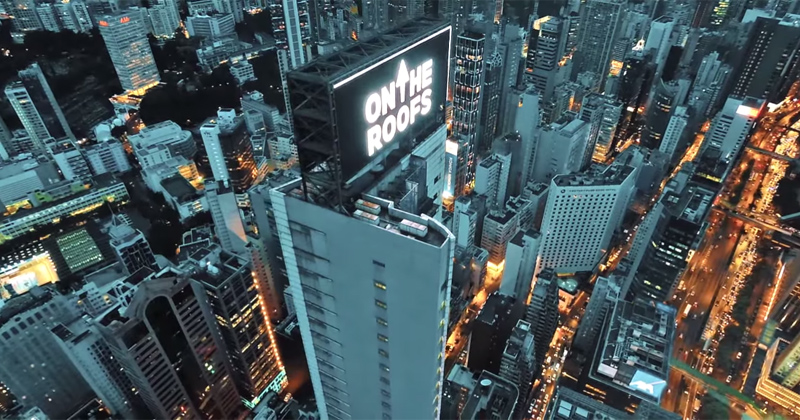 These Guys Just Scaled a Hong Skyscraper and Hacked the Billboard