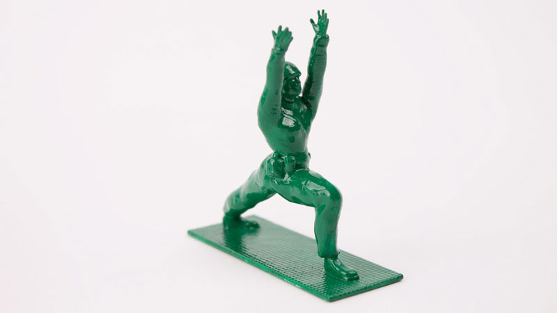 Yoga Joes Little Plastic Green Army Men Doing Yoga (10)