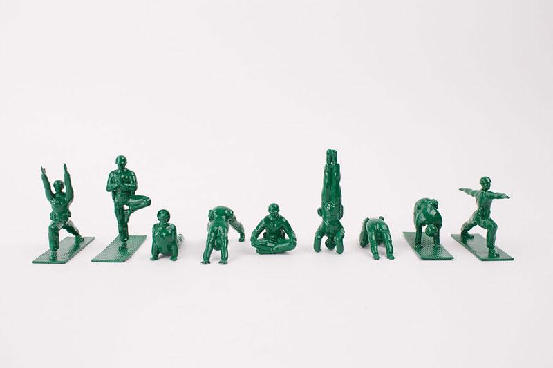 Yoga Joes Little Plastic Green Army Men Doing Yoga (13)