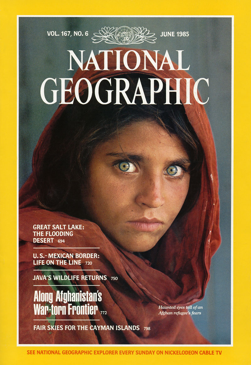 005 06 1985 5 Famous National Geographic Covers