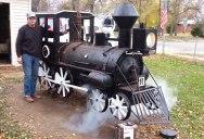 Guy Builds Epic Backyard BBQ Steam Engine Smoker
