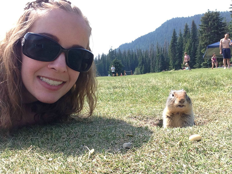 gopher selfie photobomb portrait The Shirk Report   Volume 290
