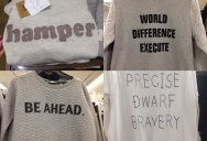 Japanese Discount Store Shirts with Random English Words