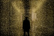 Art Installation Suspends 80,000 Shimmering Watch Plates for People to Walk Through
