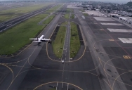 Drone Pilot Films Mexico City's International Airport from Above