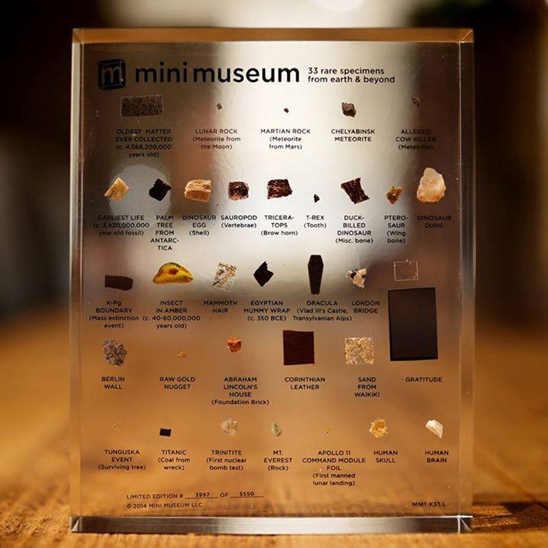 mini museum collection of rare specimens from earth and beyond (1)