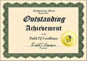 montgomery burns award for outstanding achievement in the field of excellence montgomery burns award for outstanding achievement in the field of excellence