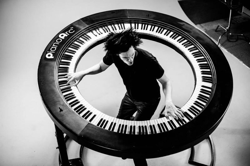 pianoarc 360 keyboard by brockett parsons 1 Leatherman Just Unveiled a Bracelet Made Out of 25 Different Tools