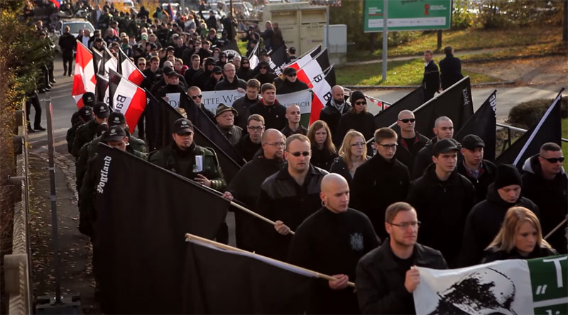Small Town Turns a Neo-Nazi March Against Itself in a Clever and Peaceful Way