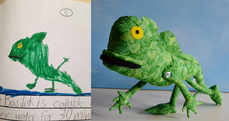 turning kids drawings into plush toys by childs own studio wendy tsao (4)
