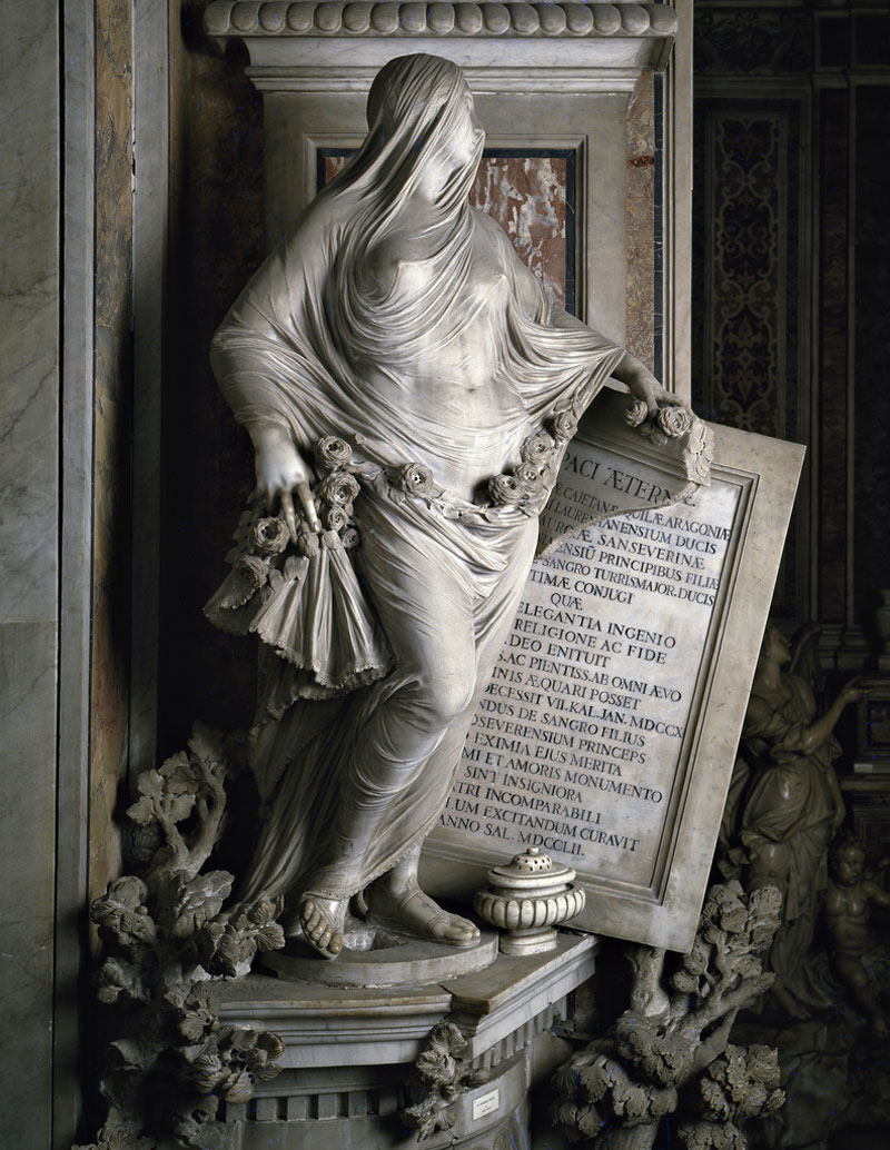 veiled marble sculptures by antonio corradini 2 12 Exquisite Artworks Carved from Jade