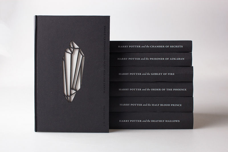 artist designs glow in the dark illustrated harry potter books (3)