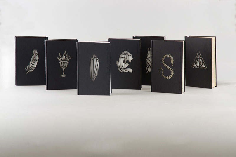 artist designs glow in the dark illustrated harry potter books (4)