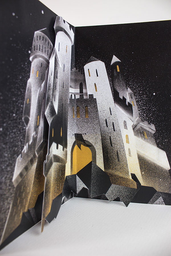artist designs glow in the dark illustrated harry potter books (7)