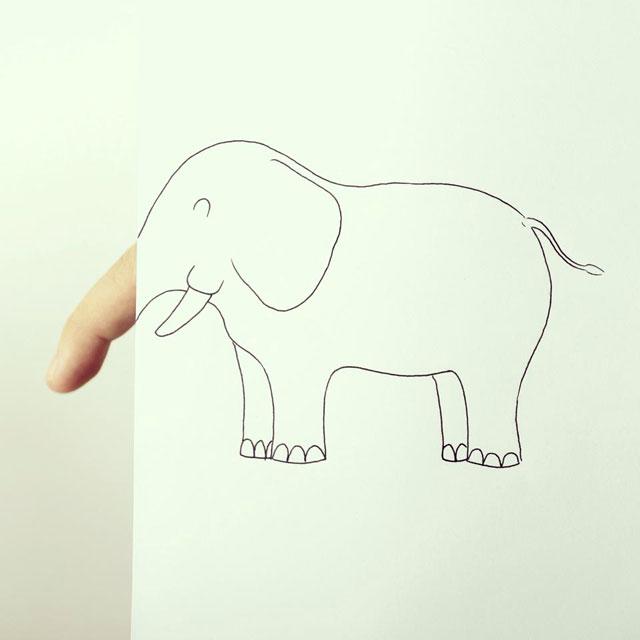 Clever Finger Doodles by Javier Perez (10)